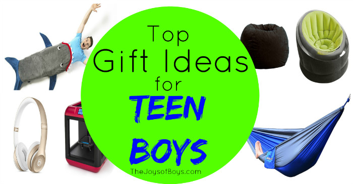 Great Gift Ideas For Teen Boys  Gift Ideas for Teen Boys Top Gifts Teen Boys will Love