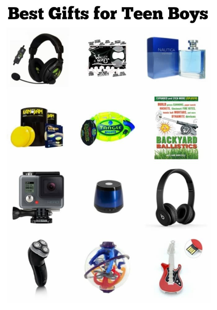 Great Gift Ideas For Teen Boys  Best Gifts for Teen Boys
