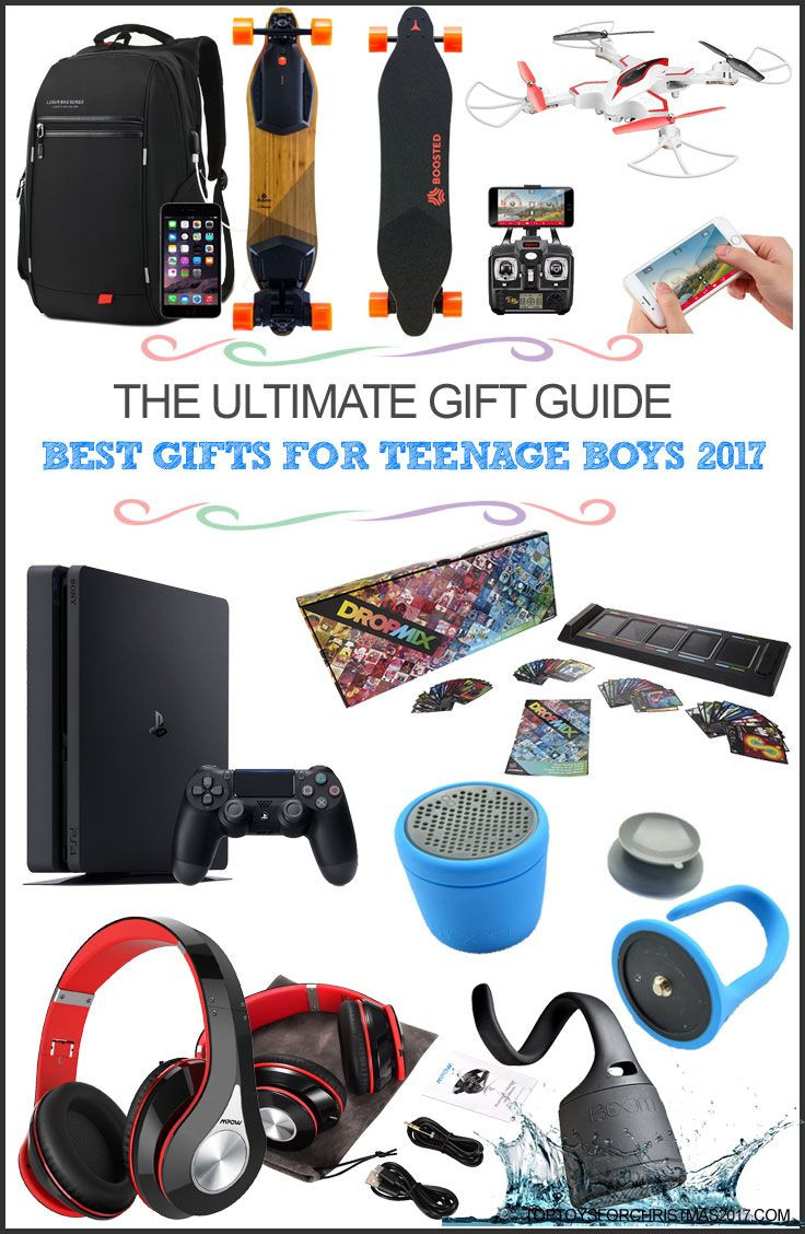 Great Gift Ideas For Teen Boys  Best Gifts for Teenage Boys 2017 – Top Christmas Gifts