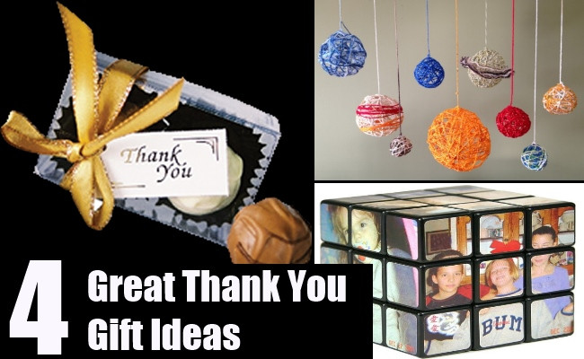 Great Thank You Gift Ideas  Great Thank You Gift Ideas Some Unique Thank You