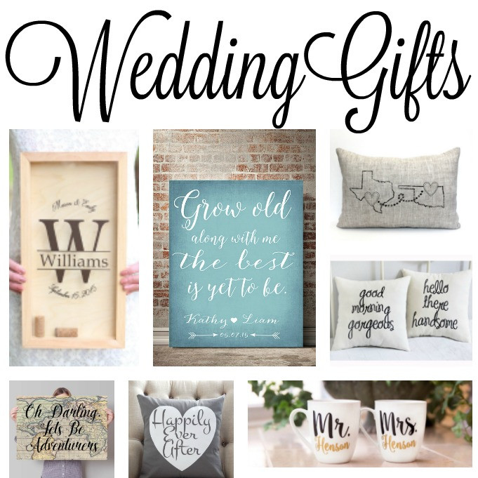 Great Wedding Gift Ideas  Wedding Gift Ideas The Country Chic Cottage