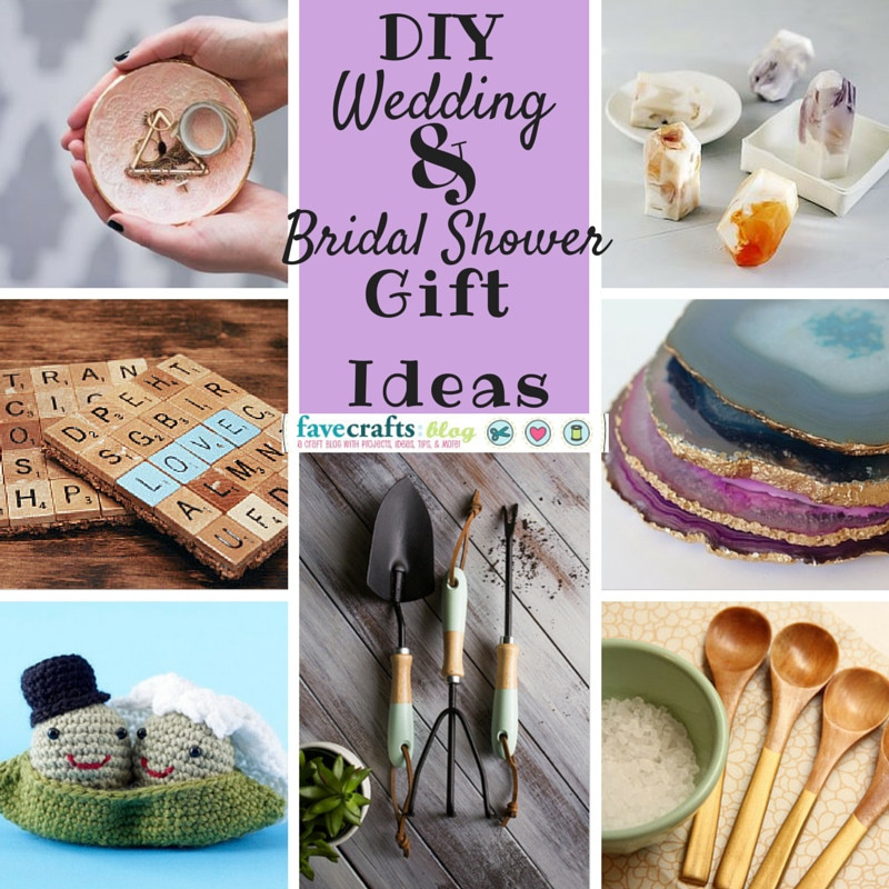 Great Wedding Gift Ideas  10 DIY Wedding Gifts Any Bride to Be Will Love FaveCrafts