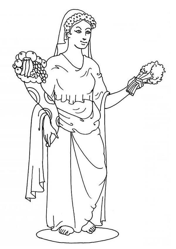 Best ideas about Greek Mythology Coloring Sheets For Kids . Save or Pin Greek Gods And Goddesses Coloring Pages Free Coloring Home Now.