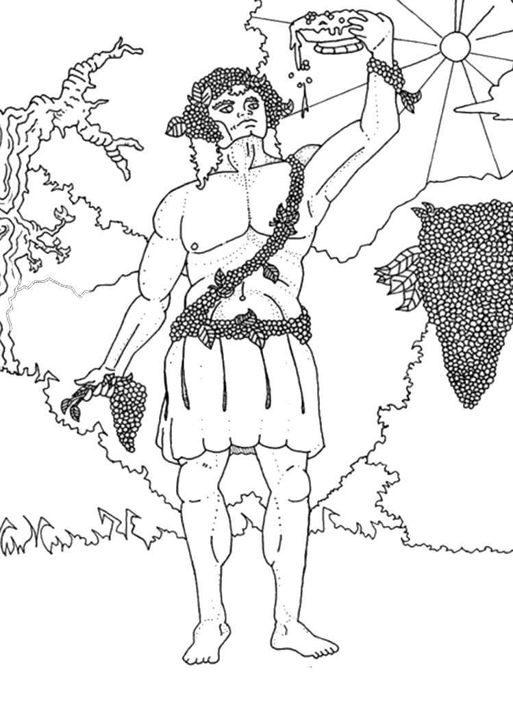 Best ideas about Greek Mythology Coloring Sheets For Kids . Save or Pin centaur hades atlas pegasus demeter dionysus harpies Now.