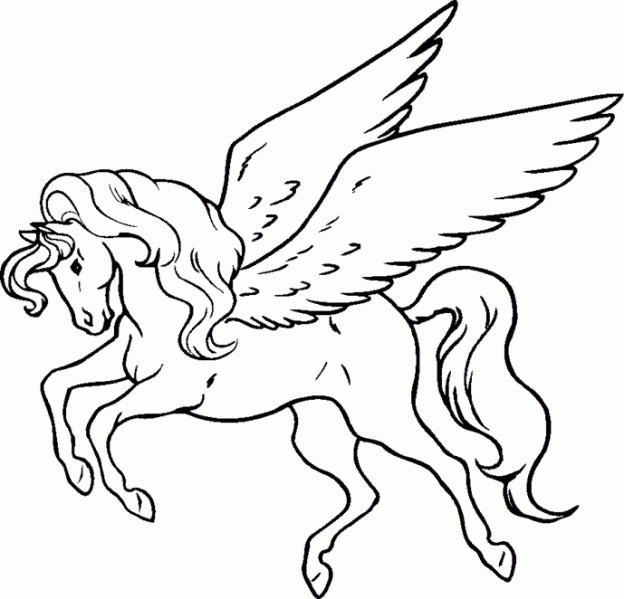 Best ideas about Greek Mythology Coloring Sheets For Kids . Save or Pin Mlp Pegasus Standing Coloring Pages Now.
