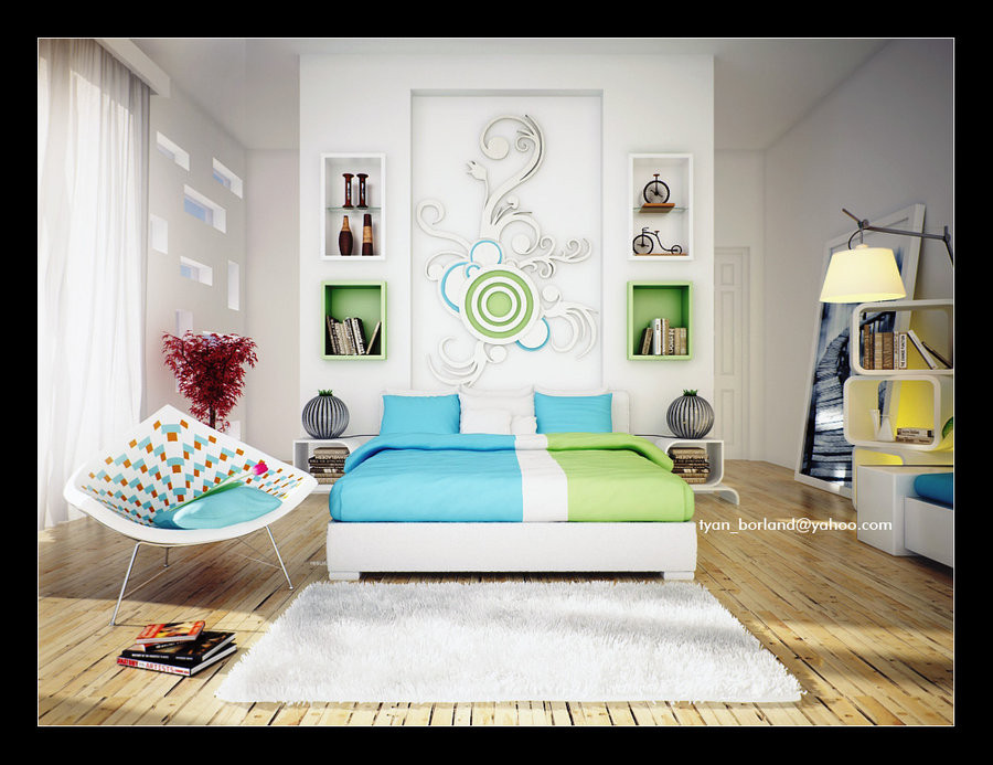 Best ideas about Green Bedroom Ideas . Save or Pin 16 Green Color Bedrooms Now.
