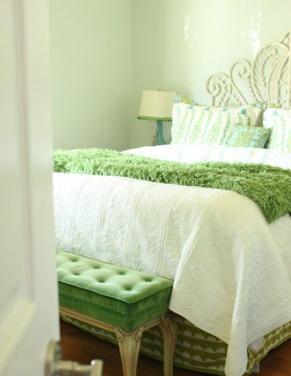 Best ideas about Green Bedroom Ideas . Save or Pin Fresh and relaxing green bedroom designs and ideas Now.