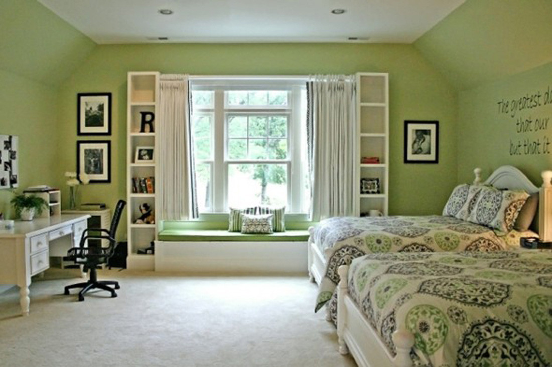 Best ideas about Green Bedroom Ideas . Save or Pin Bedroom Mint Green Colored Bedroom Design Ideas To Now.