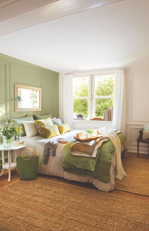 Best ideas about Green Bedroom Ideas . Save or Pin 26 Awesome Green Bedroom Ideas Decoholic Now.