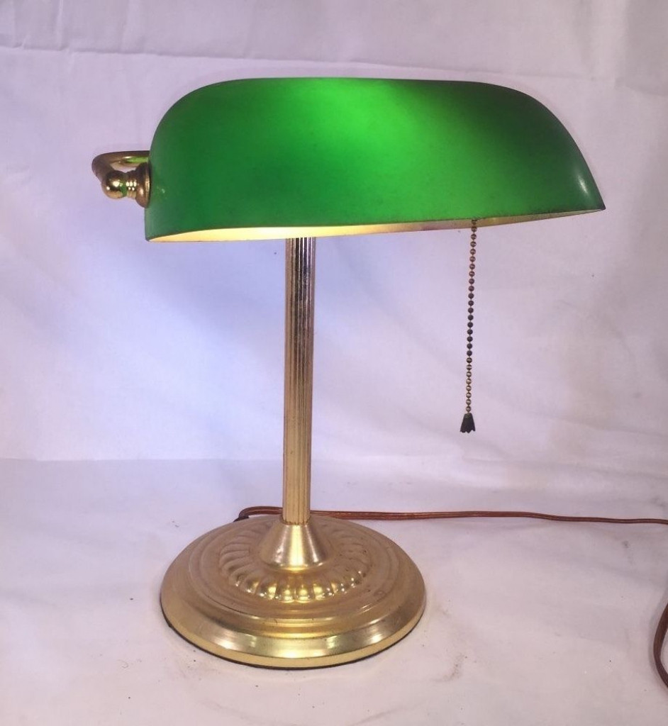 Best ideas about Green Desk Lamp . Save or Pin Bankers Desk Lamp Shade Replacement Old Emeralite Green Now.