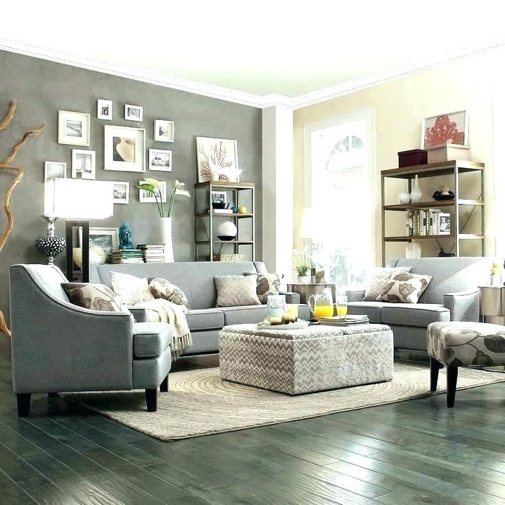 Best ideas about Grey Accent Wall Living Room . Save or Pin gray living room wall colors Now.