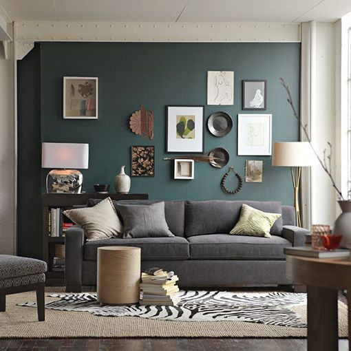 Best ideas about Grey Accent Wall Living Room . Save or Pin Accent Wall For Grey Living Room Now.