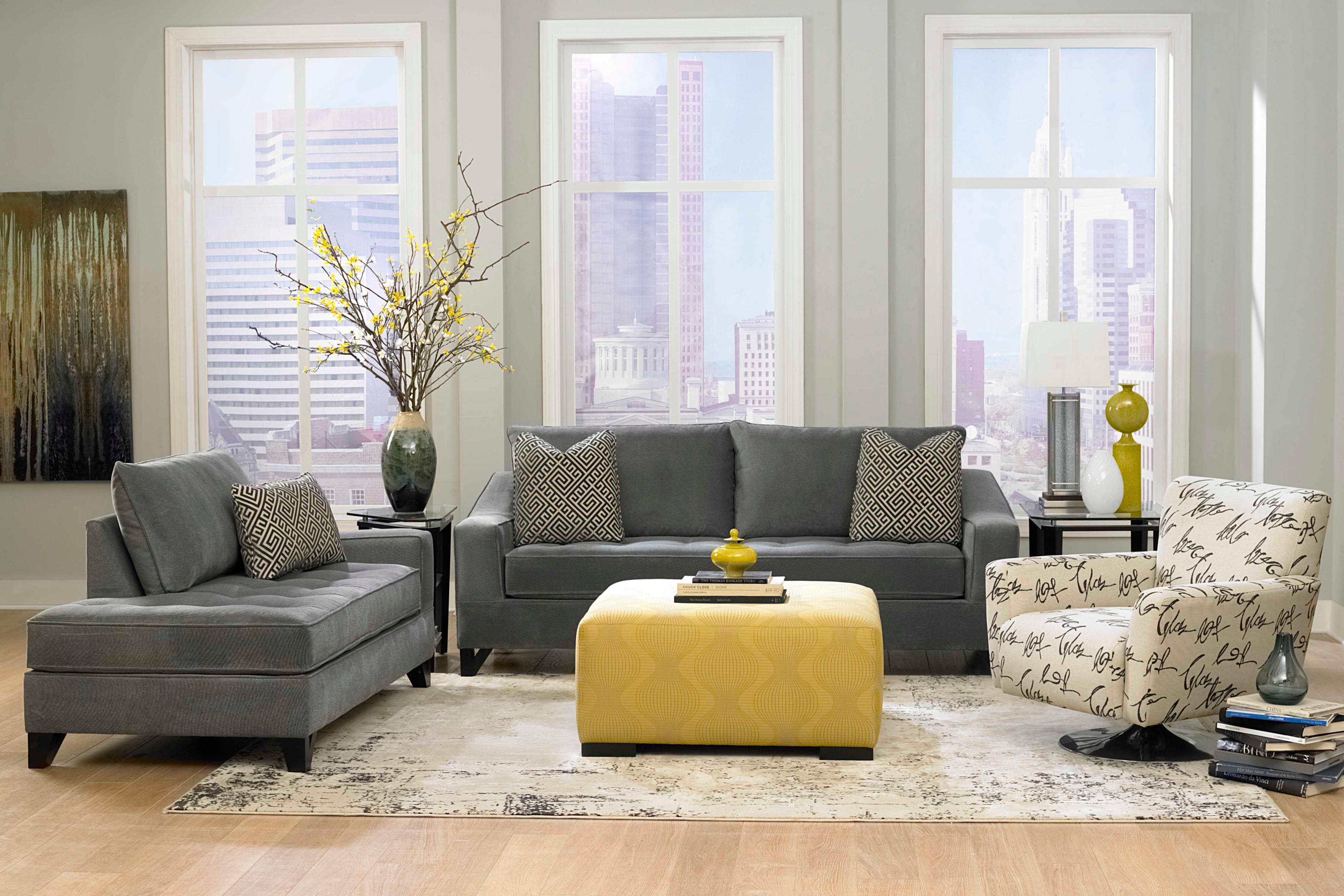 Best ideas about Grey Accent Wall Living Room . Save or Pin Amazing of Perfect Elegant Grey Living Room Accent Wall H Now.