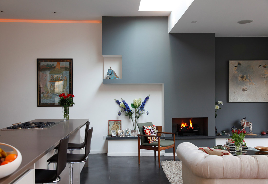 Best ideas about Grey Accent Wall Living Room . Save or Pin 69 Fabulous Gray Living Room Designs To Inspire You Now.