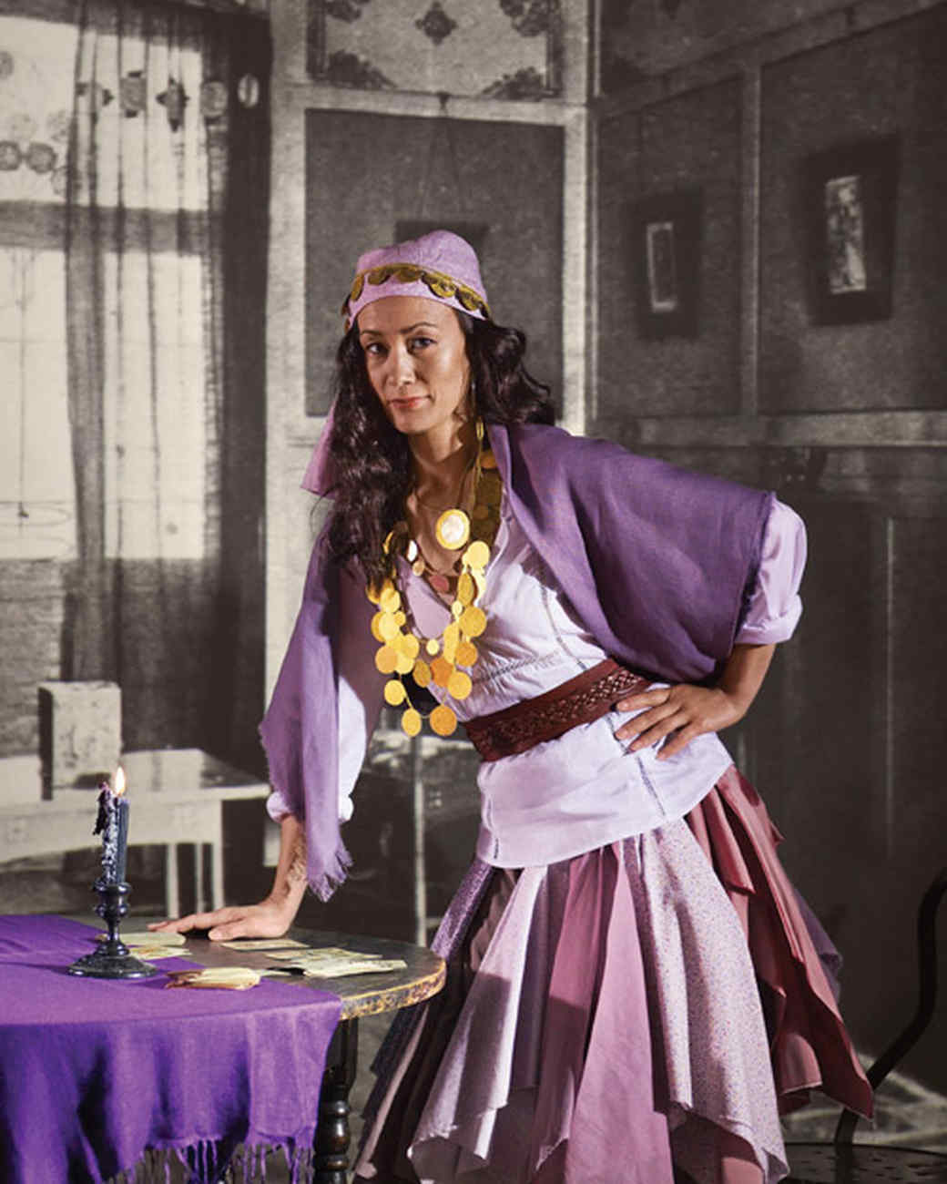 Gypsy Costumes DIY  Fortune Teller Costume