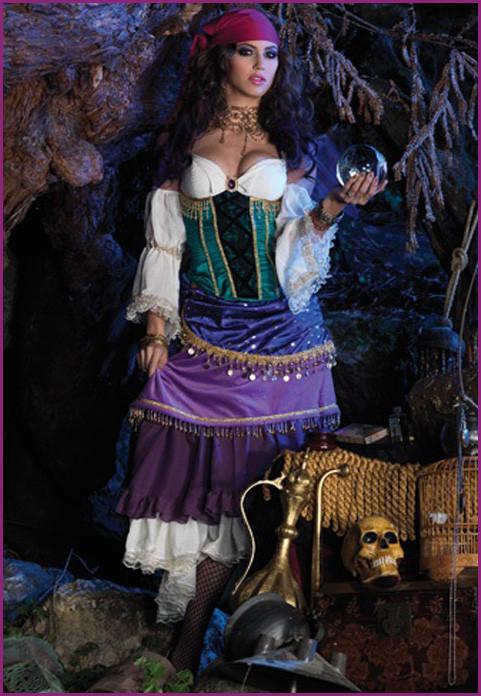 Gypsy Costumes DIY  Gypsy Costumes For Women
