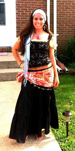 Gypsy Costumes DIY  30 best images about gypsy costume ideas for Heather on