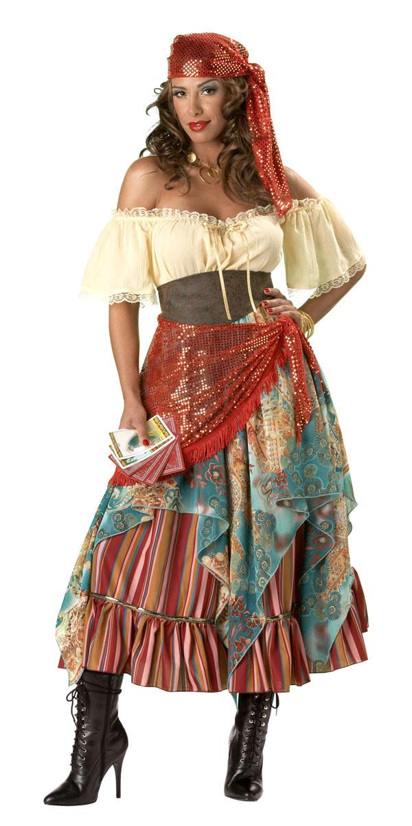Gypsy Costumes DIY  Gypsy Costume