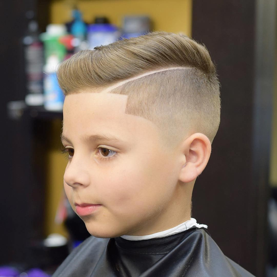 Hair Cut For Boys  Cool 15 Lofty Line Up Haircuts for Boy Get Clean Look