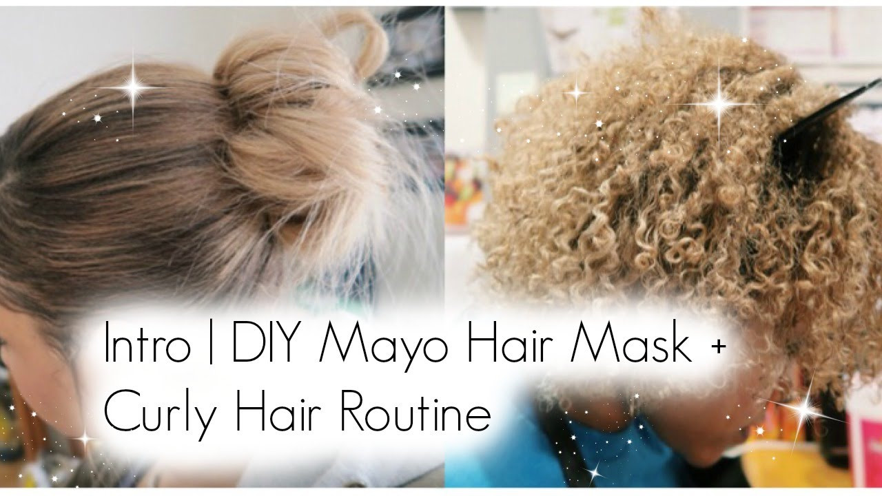 Hair Mask For Curly Hair DIY  Intro