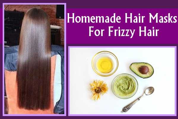 Hair Mask For Curly Hair DIY  Homemade Hair Masks For Frizzy Hairstyles