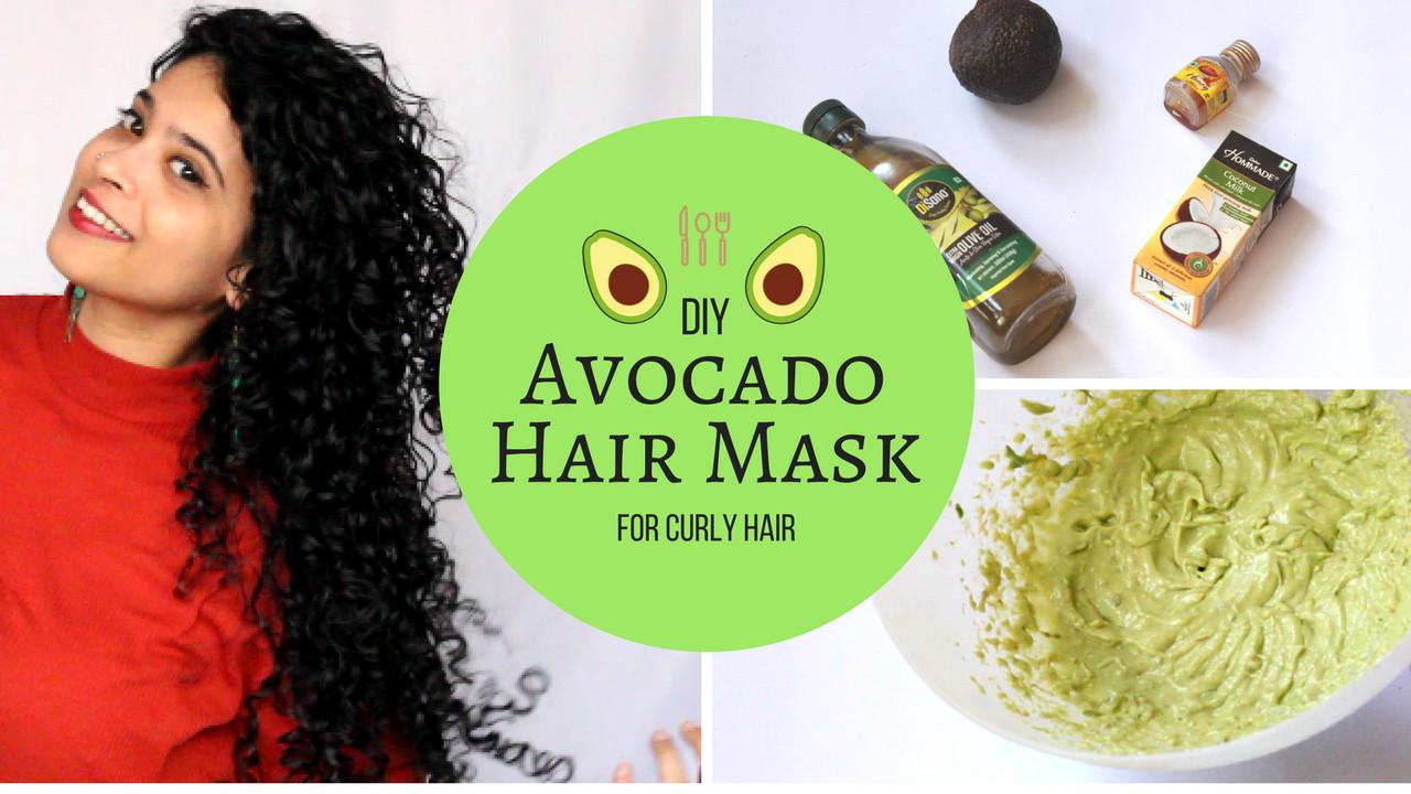 Hair Mask For Curly Hair DIY  diy curly hair mask Diy Do It Your Self