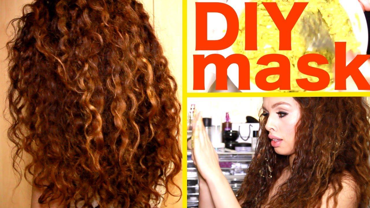 Hair Mask For Curly Hair DIY  Diy Hair Mask For Curly Hair