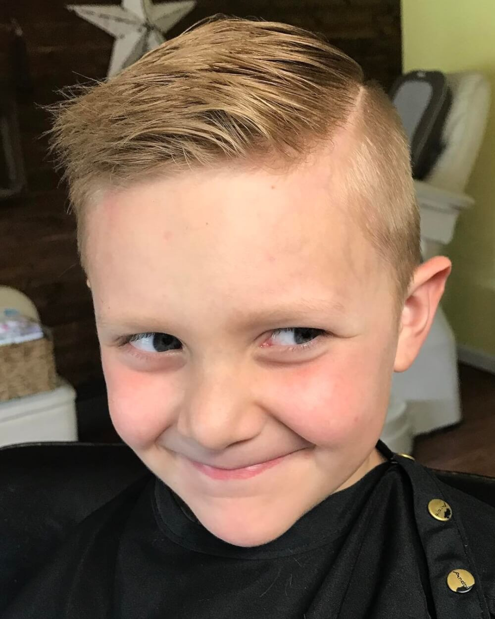 Haircuts For Boys  31 Cutest Boys Haircuts for 2018 Fades Pomps Lines & More
