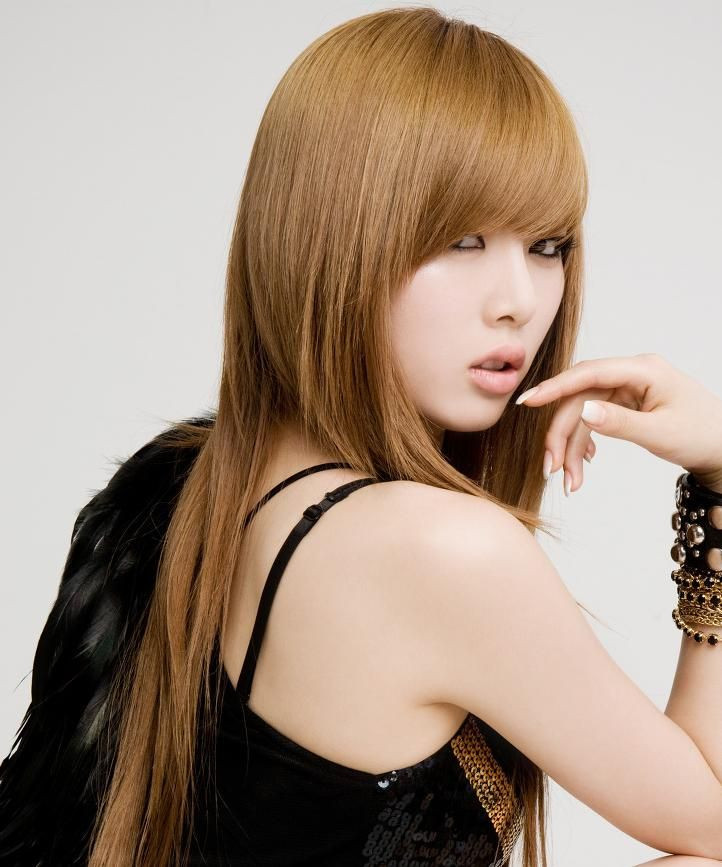 Haircuts For Female  Simple hairstyle for Kpop Hairstyles Female Best images