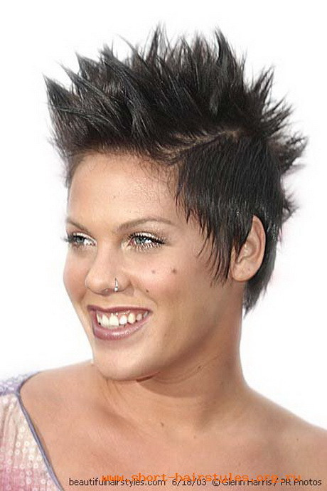 Haircuts For Female  Very short spikey hairstyles for women