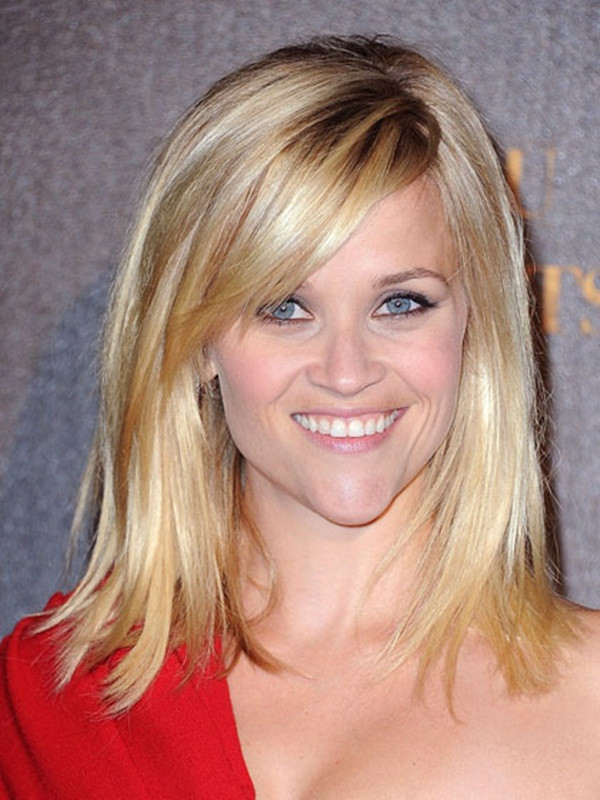 Haircuts For Medium Length Thick Hair  Medium Length Hairstyles With Bangs For Thick Hair