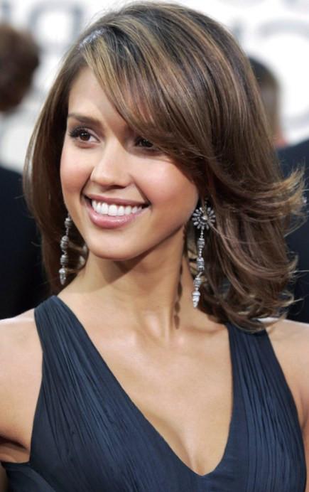 Haircuts For Medium Length Thick Hair  Pretty Hairdos for Thick Hair & Medium Length