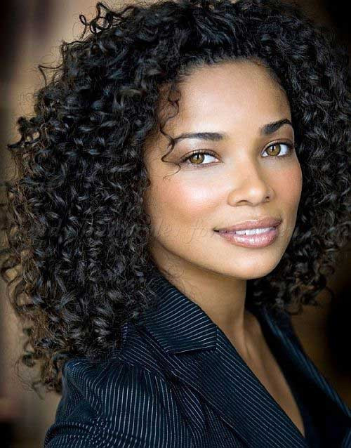 Best ideas about Haircuts For Natural Curly Hair . Save or Pin 15 Hairstyles for Black Women with Natural Hair Now.