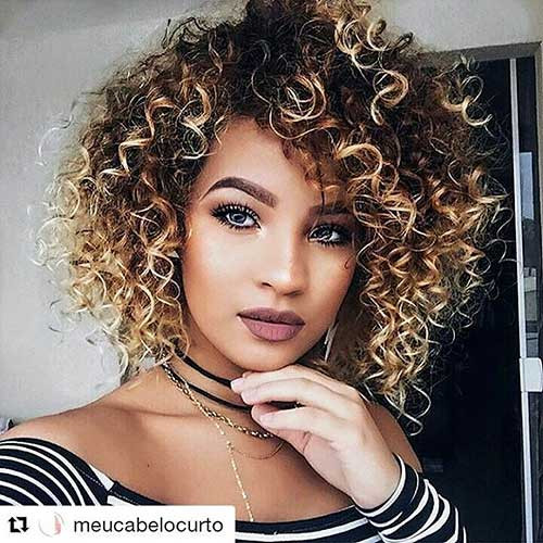 Best ideas about Haircuts For Natural Curly Hair . Save or Pin 30 Cool Short Naturally Curly Hairstyles Now.