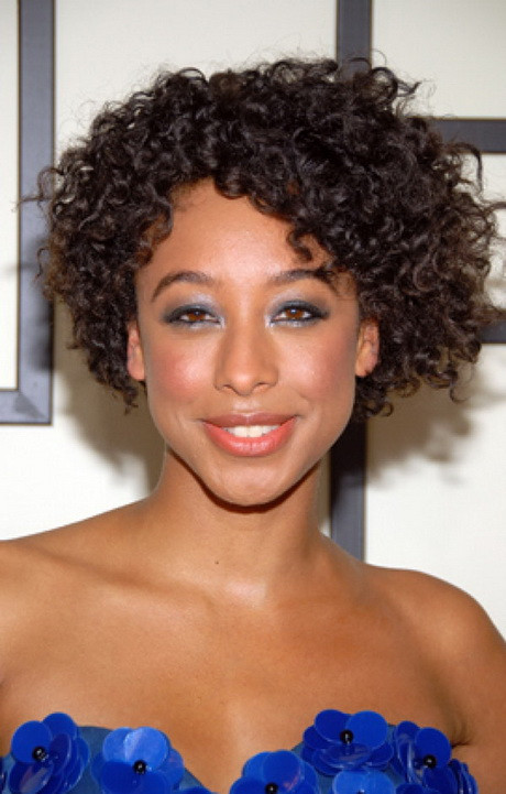 Best ideas about Haircuts For Natural Curly Hair . Save or Pin Cute hairstyles for short natural curly hair Now.