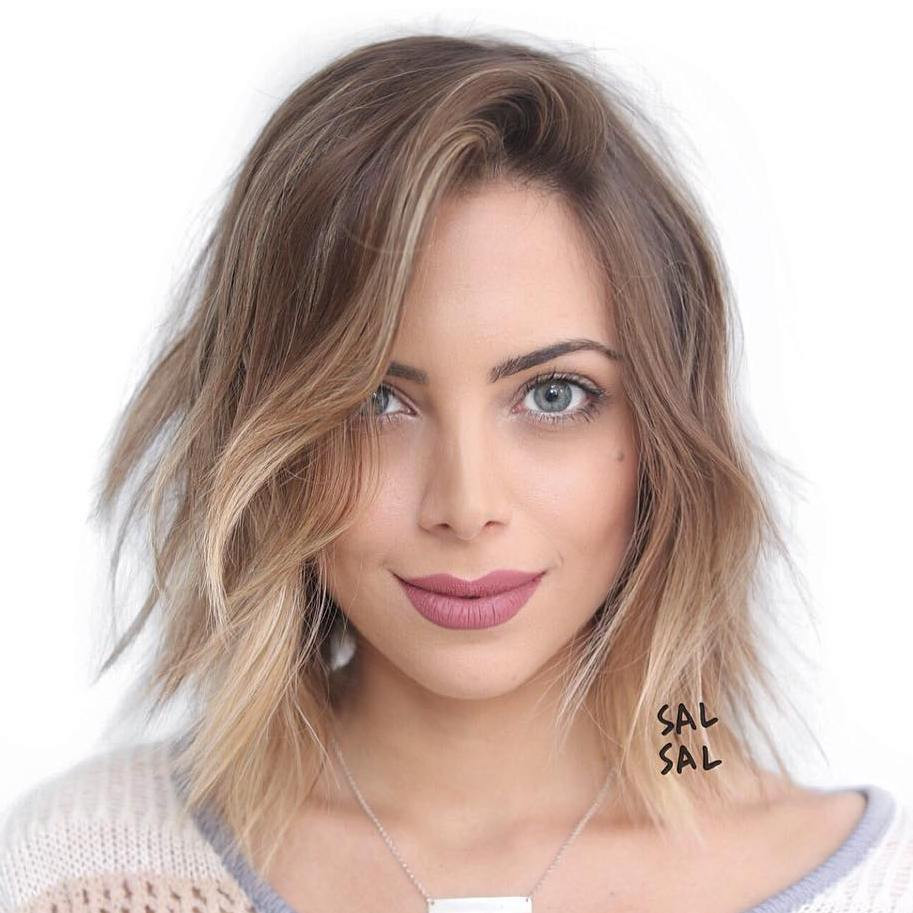 Haircuts For Oval Faces Female  Best Hairstyles for Oval Faces – YishiFashion