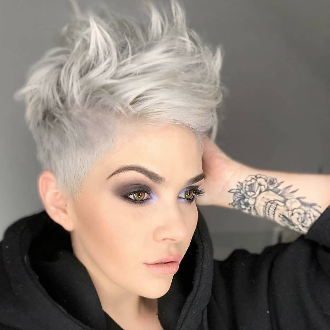 Best ideas about Hairstyle 2019 Female . Save or Pin 10 Beautiful Asymmetrical Short Pixie Haircuts Now.