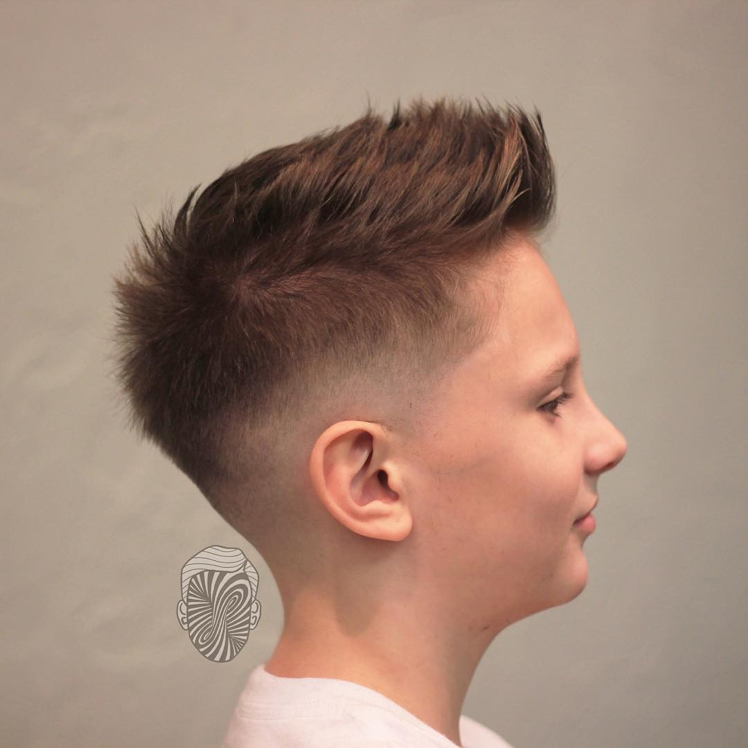 Best ideas about Hairstyle For Boys . Save or Pin Boys Fade Haircuts Now.