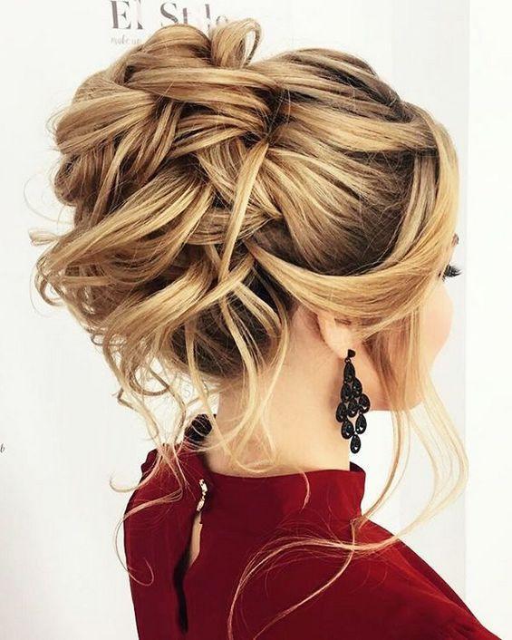 Hairstyle For Bridesmaid 2019  65 Long Bridesmaid Hair & Bridal Hairstyles for Wedding