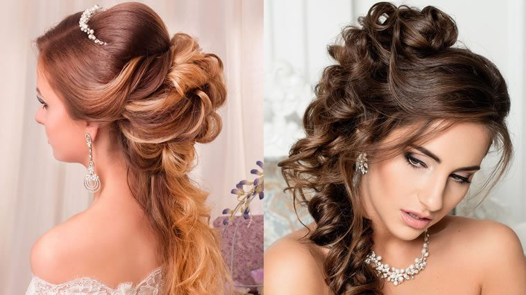Hairstyle For Bridesmaid 2019  Wedding Hair ideas 2018 – HAIRSTYLES