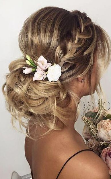 Hairstyle For Bridesmaid 2019  30 Beautiful Wedding Hairstyles – Romantic Bridal