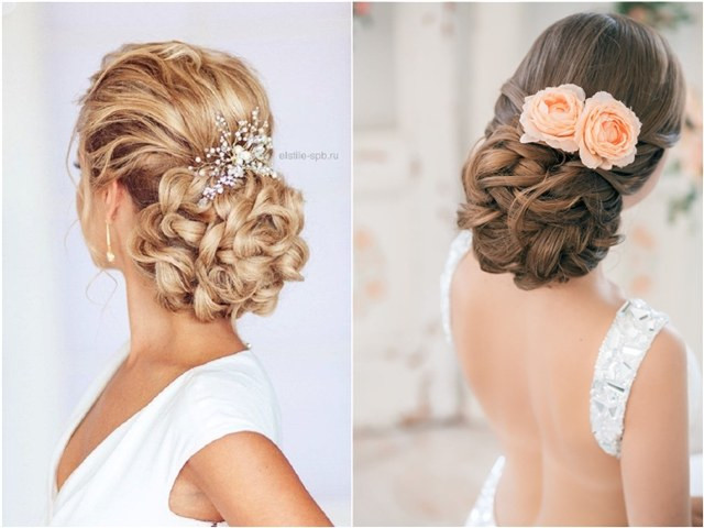 Hairstyle For Bridesmaid 2019  54 Best Elstile Wedding Hairstyles for 2019