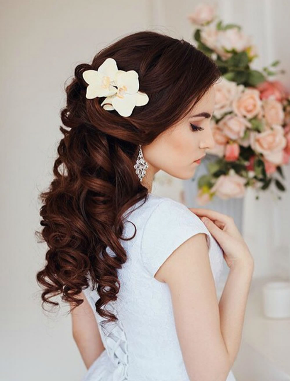 Hairstyle For Bridesmaid 2019  Very Stylish Wedding Hairstyles for Long Hair 2018 2019