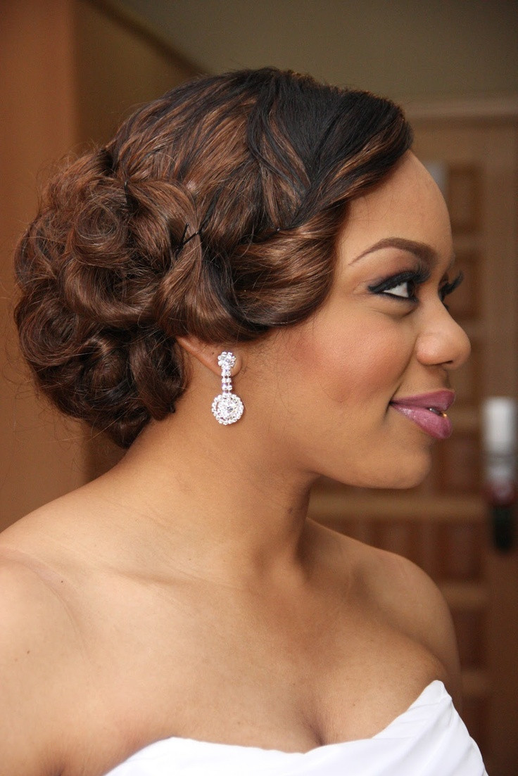Hairstyle For Bridesmaid 2019  Wedding Hairstyles Ideas 2019 For Nigerian Brides
