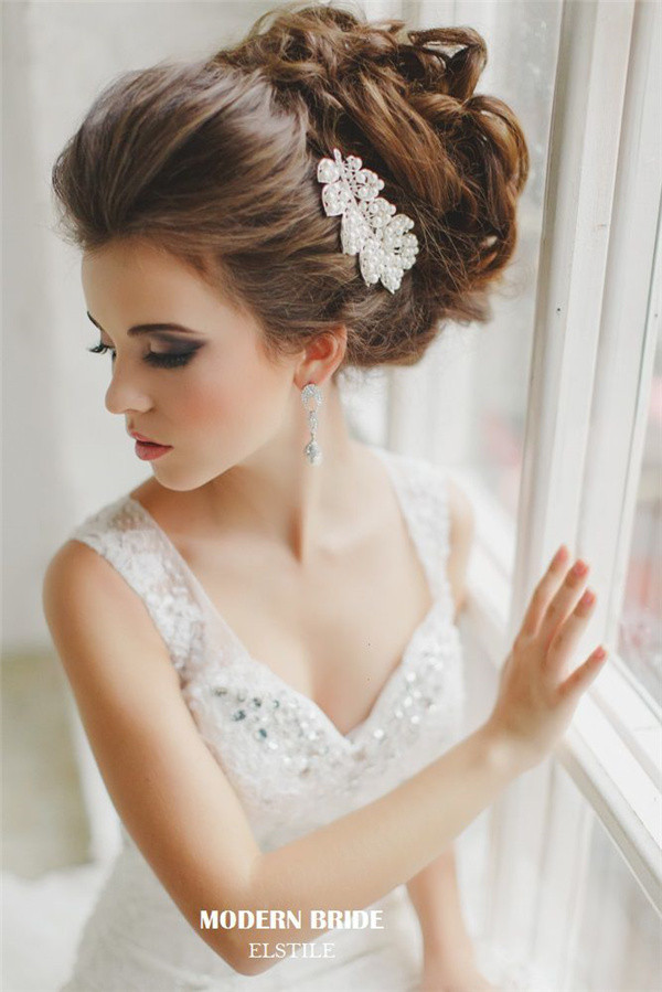 Best ideas about Hairstyle For Bridesmaid . Save or Pin 20 Most Beautiful Updo Wedding Hairstyles to Inspire You Now.