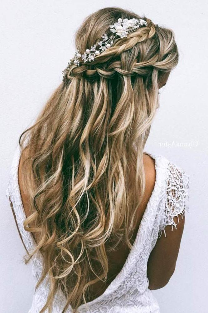 Best ideas about Hairstyle For Bridesmaid . Save or Pin 15 Inspirations of Long Hairstyles Bridesmaid Now.