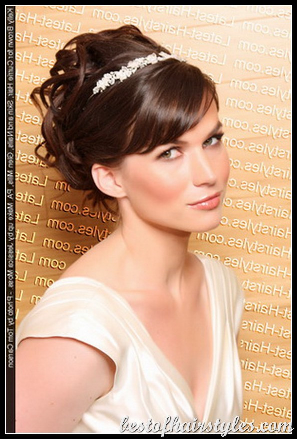 Best ideas about Hairstyle For Bridesmaid . Save or Pin Bridesmaid updos for short hair Now.