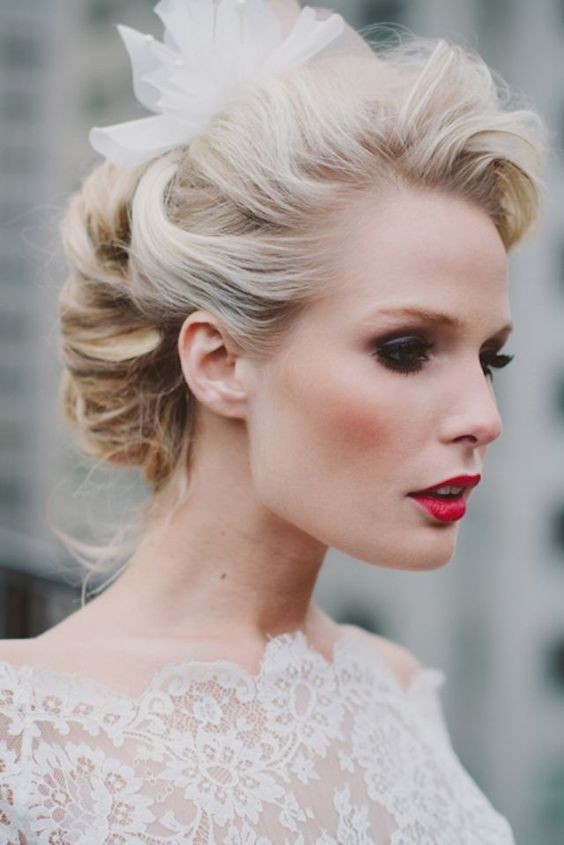 Best ideas about Hairstyle For Bridesmaid . Save or Pin Vintage Romantic Bridal Hairstyles Now.