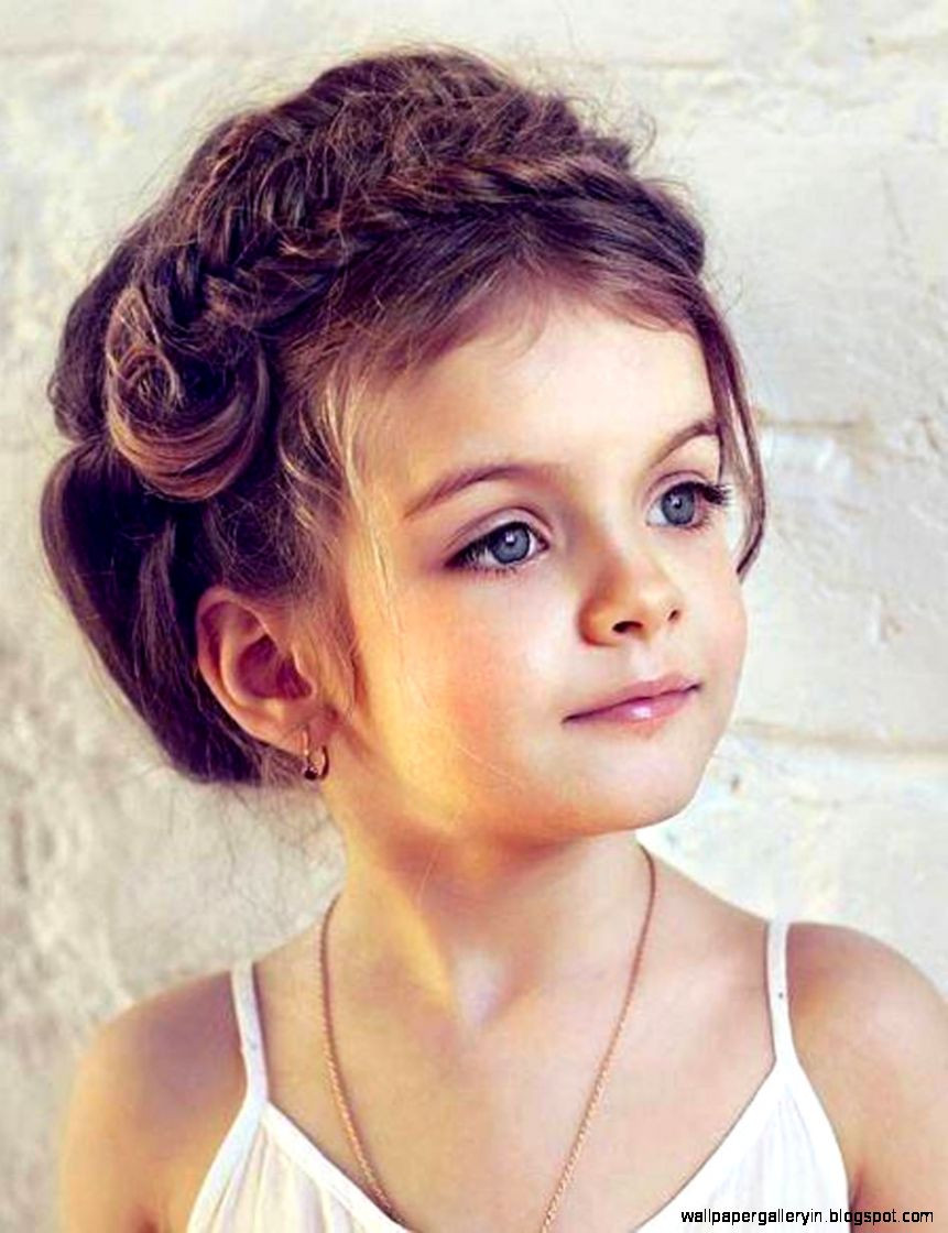 Hairstyle For Girls Kids  Cute Girl Curly Hair Wallpaper