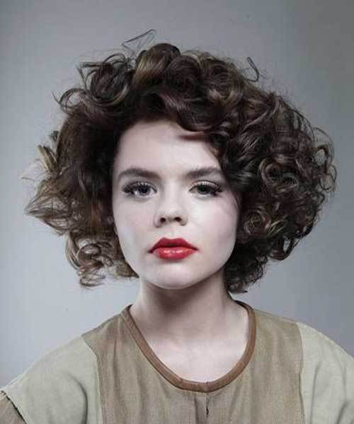 Best ideas about Hairstyle For Thick Curly Frizzy Hair . Save or Pin 15 Short Thick Curly Hair Now.